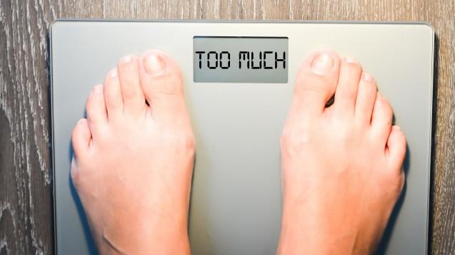 Wann ist das Gewicht zu hoch? Der Body-Mass-Index gibt Hinweise. (Foto: adrian_ilie825 / Fotolia)