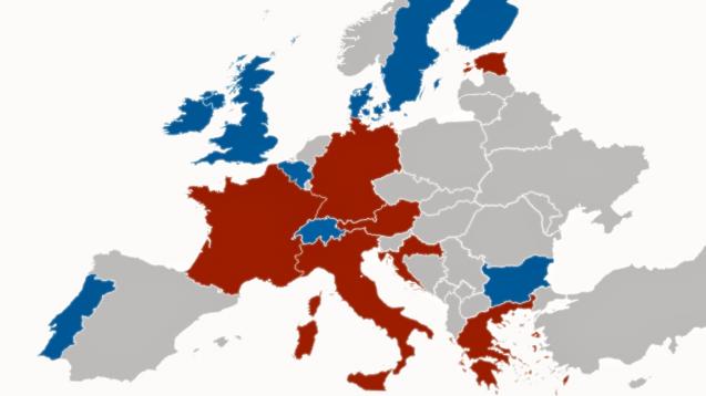 Bei der Apothekenpflicht und Kostenerstattung von Homöopathika gibt es innerhalb Europas erhebliche Unterschiede. (Grafik: DAZ.online)