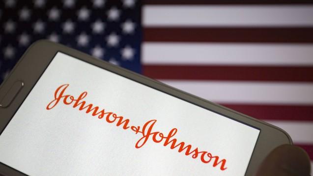 Dem Pharmakonzern Johnson & Johnsonwird vorgeworfen, verschwiegen zu haben, dass beim Antipsychotikum Risperdal (Risperidon) Gynäkomastie als Nebenwirkung auftreten kann.(m/Foto; imago images / ZUMA Press)