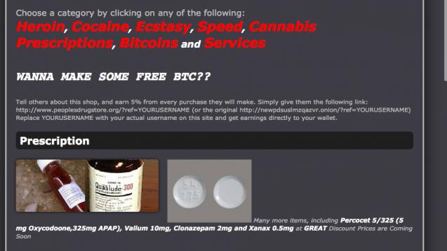 Nichts, was es nicht gibt: Im Darknet werden nicht nur Drogen oder Waffen, sondern auch Arzneimittel angeboten. Nicht alles ist gefälscht. Vielleicht. Eine Garantie gibt es nicht. (Screenshot)