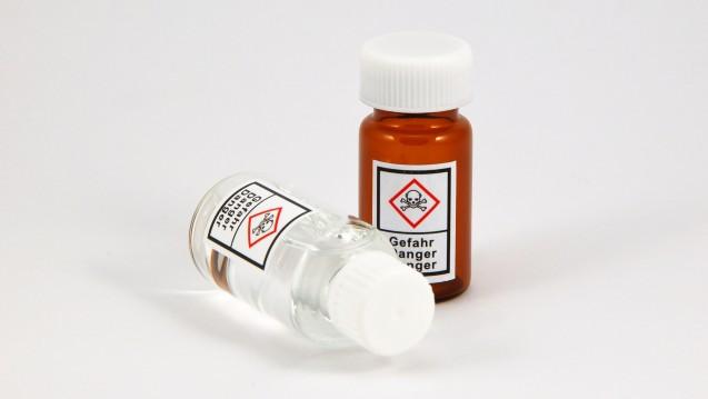 Für Gefahrstoffe mit dem PiktogrammGHS06 besteht eine Erlaubnispflicht. (Foto:Kanusommer / Fotolia)