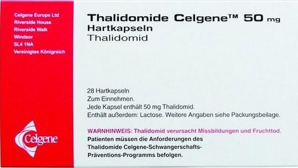Rote-Hand-Brief zu Thalidomid