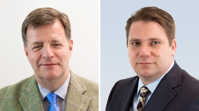 Jörg Geller (li.), stellvertretender Vorstandsvorsitzender der Kohl Medical AG, und AVIE-Geschäftsführer Dominik Klahn melden sich mit einem Positionspapier zu Wort. (Foto: Avie)