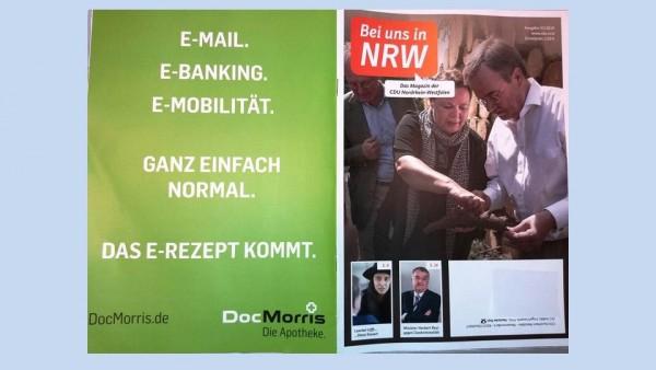 DocMorris wirbt im NRW-CDU-Blatt