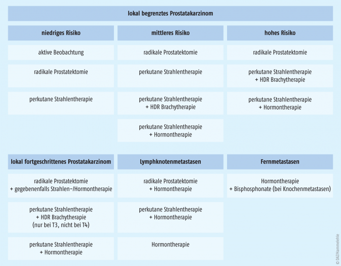 próstata ca tnm- klassifikation