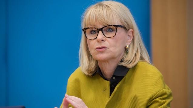 Die gesundheitspolitische Sprecherin der Unionsfraktion im Bundestag, Karin Maag (CDU), verlässt den Bundestag. (Foto: IMAGO / Future Image)