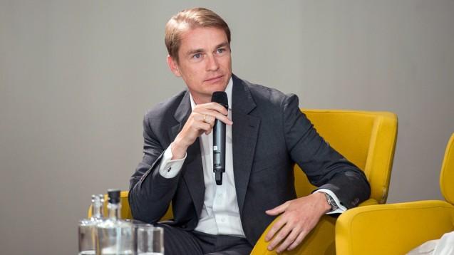 Christian Buse, Vorsitzender des Bundesverbandes Deutscher Versandapotheken, will Boni für alle Apotheken. (m/Foto:Külker)