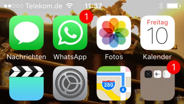 Nachrichten, WhatsApp, Fotos. Wohin führt Maps? Der Screenshot der DAZ.online-Woche. (Foto: DAZ.online)