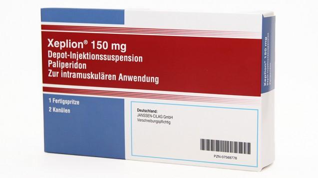 Packungen in deutscher Aufmachung sind von dem Fälschungsfall nicht betroffen. (Foto: Janssen)