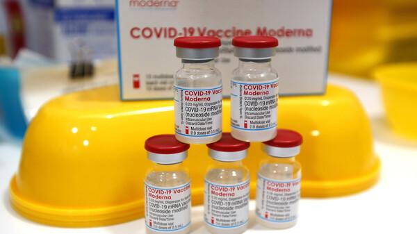 Moderna-Booster reduziert Durchbruchinfektionen