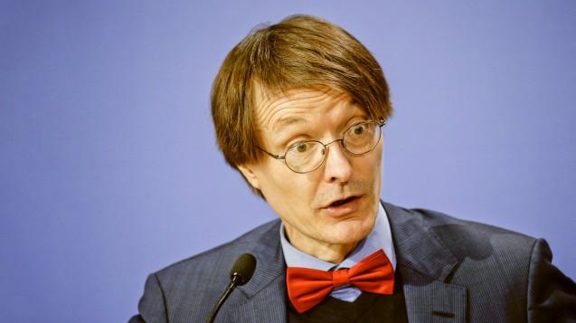 Der SPD-Gesundheitsexperte Karl Lauterbach hat seinen Widerstand gegen das von der Union favorisierte Rx-Boni-Verbot angekündigt. (b/ Foto: Imago)