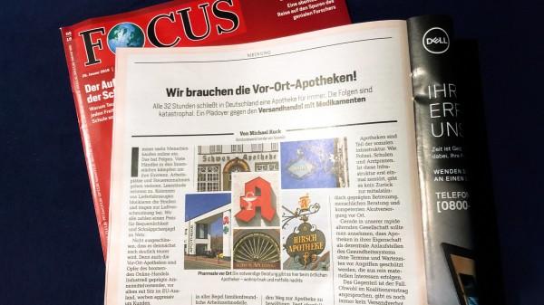 """Noweda-Chef Kuck warnt im """"Focus"""" vor dem Versandhandel"""