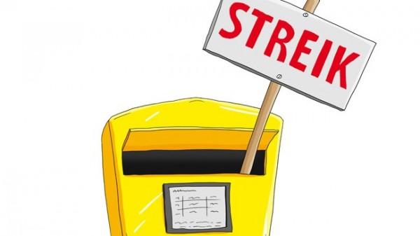 Poststreik beeinträchtigt DAZ- und AZ-Zustellung