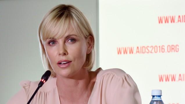 Oskarpreisträgerin Charlize Theron eröffnete die Welt-Aids-Konferenz im südafrikanischen Durban. (Foto: dpa)