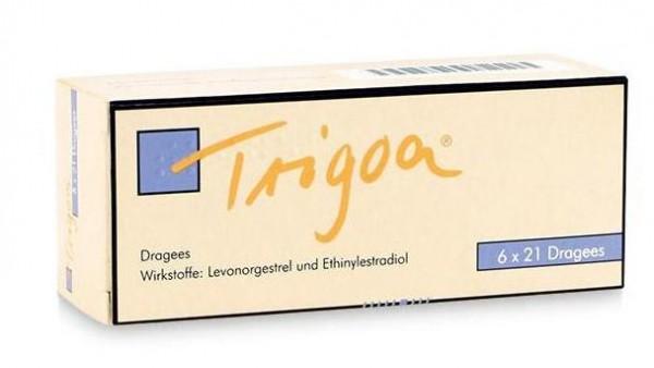 """""""Trigoa verhindert auch bei Einnahme in falscher Reihenfolge den Eisprung"""""""