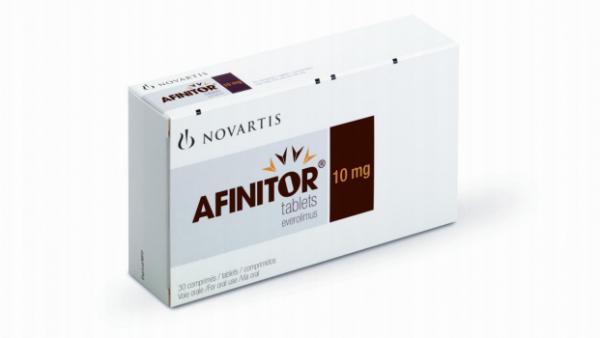Neue Anwendungsgebiete für Afinitor