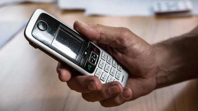 Die Deutsche Telekom soll ab 1. Juli im Auftrag der Gematik eine E-Rezept-Hotline betreiben. (Foto: IMAGO / Fotostand)