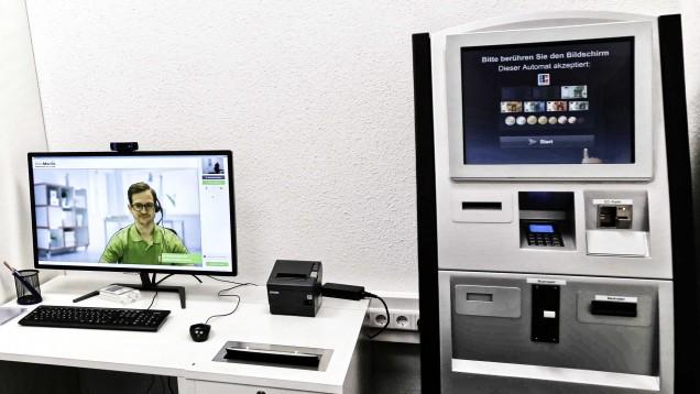 Der Bundesgerichtshof hat entschieden: Dieser Abgabeautomat, den DocMorris in Hüffenhardt betrieb, bleibt verboten. (c / Foto: diz)