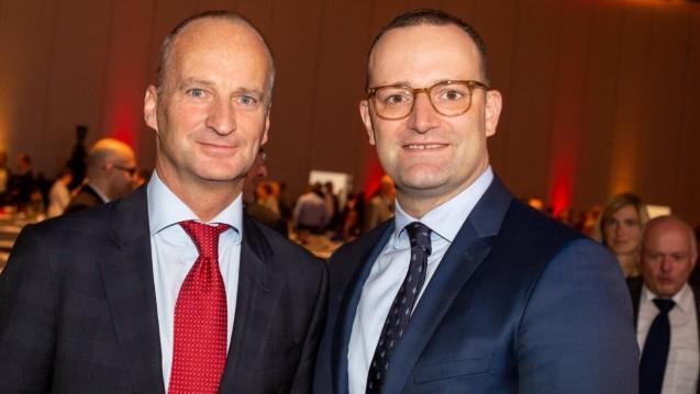 Was wusste die ABDA? Gab es einen Deal mit Bundesgesundheitsminister Jens Spahn (CDU), das Rx-Versandverbot fallen zu lassen, wenn es mehr Geld für die Apotheker gibt? (s / Foto: Expopharm 2018, Schelbert)