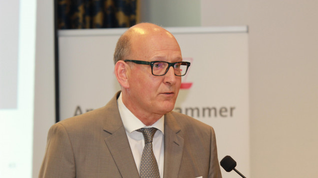 Dr. Andreas Walter, Hauptgeschäftsführer der Apothekerkammer Westfalen-Lippe fordert stabile Rahmenbedingungen. (Foto: AKWL)