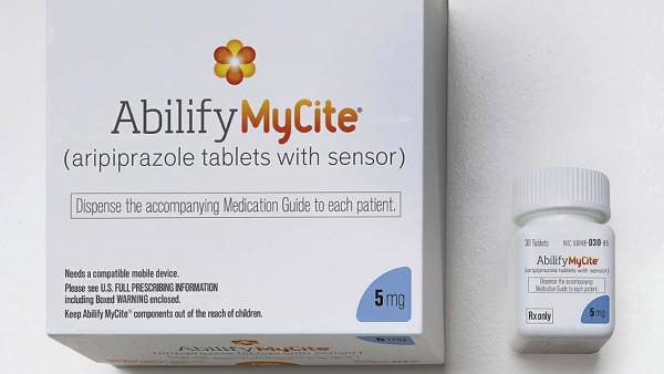 Digitale Pille für erste Patienten verfügbar