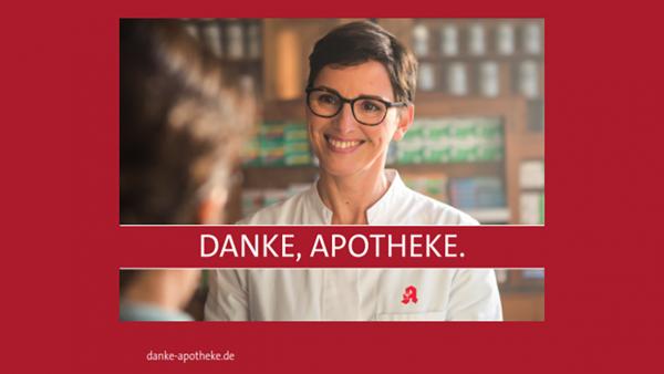 Patienten-Postkarten mit einem Dankeschön für Apotheker