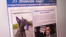 Ein Flohmittel für Hunde sorgte für Diskussionen in den (sozialen) Medien. Ein Gericht befand: Da darf auch der Hersteller ein Wort mitreden. Zumindest unter gewissen Umständen. (Abbild: isbravectosafe.com)