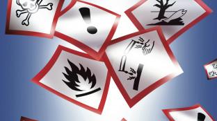 Der schnelle Blick auf die Gefahrstoffe