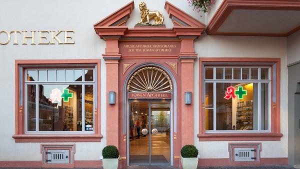 Die erste Apotheke in Deutschland