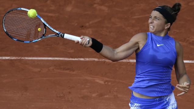 Die italienische Tennisspielerin Sara Errani (hier bei den French open 2017) ist positiv auf Letrozol getestet worden. (Foto:picture alliance / AP Photo)