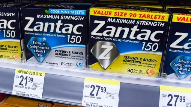 Die US-amerikanische Online-Apotheke Valisure gibt an, die FDA auf die NDMA-Verunreinigung in Ranitidin aufmerksam gemacht zu haben. Das Bild lässt erahnen, dass Ranitidin in den USA eine größere Rolle spielt als in Deutschland. ( r / Foto: imago images / ZUMA Press)
