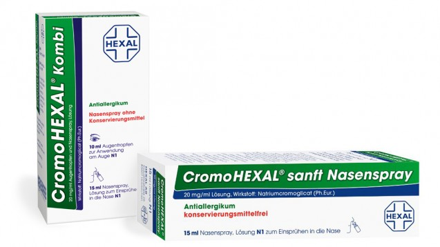 Allergiker müssen in dieser Saison ohne Cromohexal Nasenspray auskommen. (Foto: Hexal)