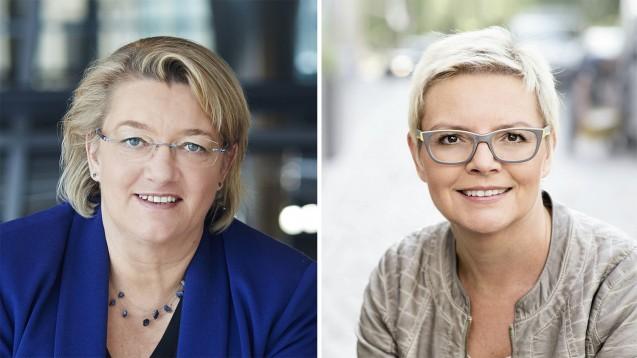 Nur aus der Apotheke: Aus Sicht von SPD-Politikerin Sabine Dittmar (rechts) ist es wichtig, dass Menschen mit medizinischen Problemen zuerst immer zu einem Heilberufler gehen. (Foto: dpa | SPD)