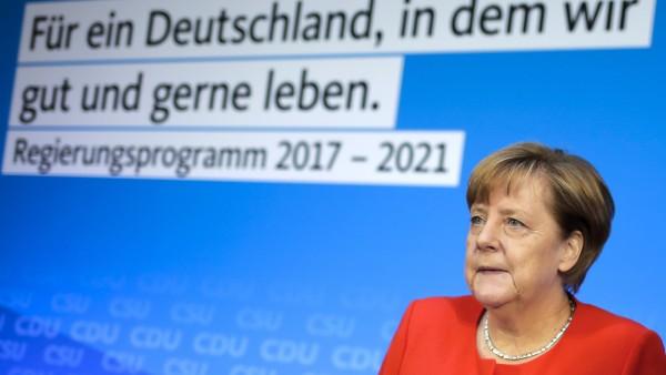 Bundeskanzlerin Merkel ruft zum Impfen auf
