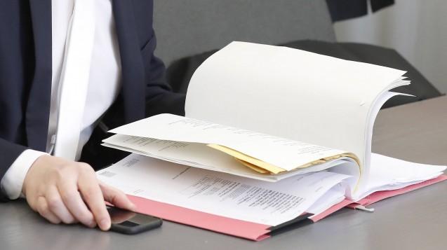 Im Bottroper Zyto-Prozess soll ein Journalist Teile einer Strafakte ins Internet gestellt haben. Die Staatsanwaltschaft hat jetzt Strafbefehl gegen ihn beantragt. (s / Foto: Imago)