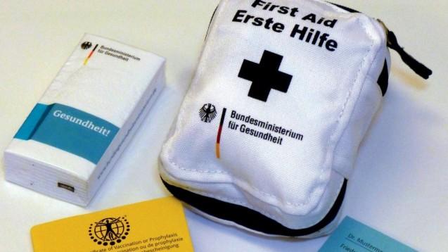 Der Ratgeber soll Asylsuchenden eine erste Hilfe bei gesundheitlichen Fragen bieten. (Foto: Bundesministerium für Gesundheit)