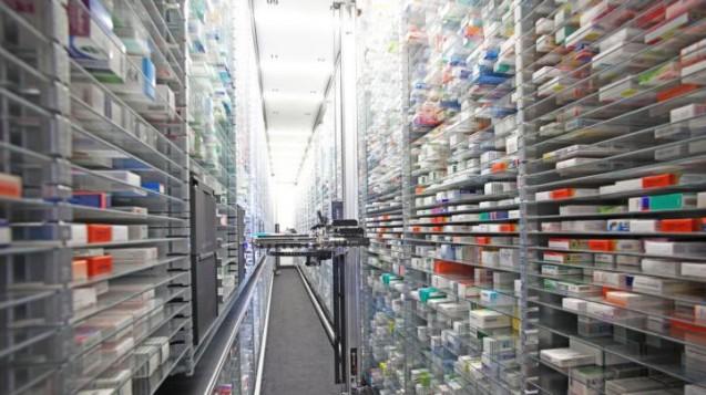 Rote Zahlen für die Shop-Apotheke: Ein Teil des Geldes floss in die Ausweitung der Kapazitäten. Das Lager wird vergrößert. (Foto: BVDVA)