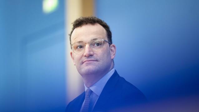 Bundesgesundheitsminister Jens Spahn: Die jetzigen Infektionszahlen sind für unser Gesundheitssystem noch gut zu bewältigen – doch dynamischer werden sollte die Entwicklung nicht. (m / Foto: imago images / photothek)