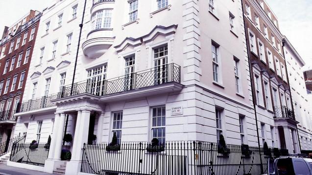 AstraZeneca, hier der Hauptsitz in London, kann sich seit langem wieder über Umsatzwachstum freuen. (Foto: AstraZeneca)