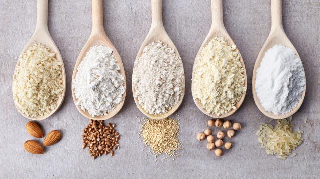 Mandel- oder Reismehl: Aufgrund des Trends zur glutenfreien Ernährung bekommt man Mehl-Alternativen im normalen Supermarkt. (Foto:baibaz / Fotolia)
