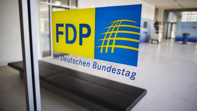 Die FDP-Bundestagsfraktion interessiert sich für die regierungsinternen Meinungsbildungsprozesse zur Importförderung. (Foto: Imago)