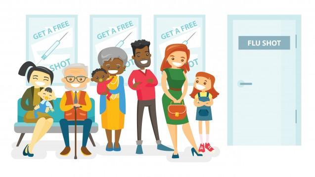 Die STIKO bleibt bei ihrer Empfehlung: Nur wer zu einer Risikogruppe zählt, sollen sich gegen Grippe impfen lassen. (x / Foto:Visual Generation / stock.adobe.com)