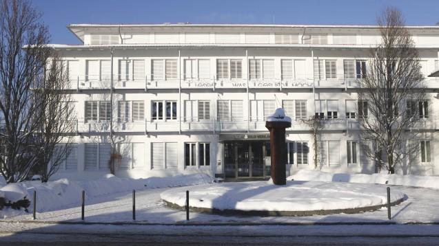 Gebäude des Wort & Bild-Verlags in Baierbrunn bei München. (Foto: IMAGO / M.Zettler)