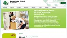 Arbeitgeber können kostenlos Stellen angeben: Apotheker ohne Grenzen plant eine Internet-basierte Plattform zur Arbeitsvermittlung von Flüchtlingen in Heilberufen. (Screenshot)