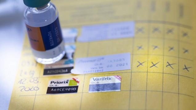 Schluss mit dem gelben Heft: Der Impfpass wird digital. (Foto: imago images / photothek)