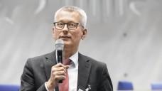 Professor Ulrich Jaehde (hier beim Zukunftskongress 2018) traut den Apothekern zu, Schrittmacher für AMTS zu sein. (m / Foto: Alois Müller)