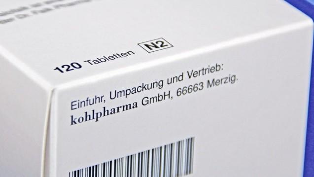Die Importförderklausel soll es weiterhin geben. Sie soll allerdings nicht mehr für Biopharmazeutika und parenteral anzuwendende Zytostatika gelten. Und: Im Bundestag wird es einen Beschluss dazu geben. (c / Foto: Kohlpharma)