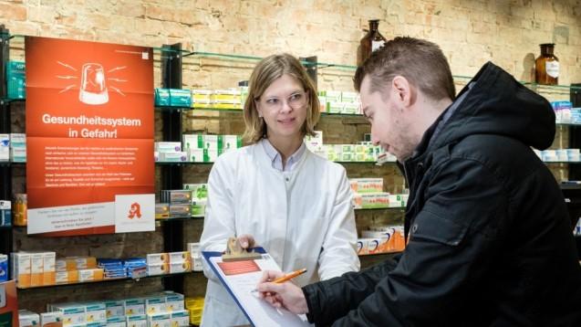 Friedemann Schmidt ruft die Patienten zur Unterstützung auf: Wer noch nicht unterschrieben hat, solle in die Apotheke gehen und das bis zum 1. März noch tun. (Foto: ABDA)