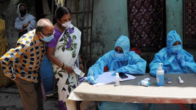 Coronakrise in Indien: Ein durchschnittlicher Preisanstieg von 20 Prozent bei chinesischen Wirkstoffen beeinträchtigt die finanzielle Rentabilität vieler Formulierungen. (c / Foto: imago images / ZUMA Wire)