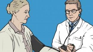 Eine Patientin mit systolischer Herzinsuffizienz – Leitlinien versus Praxis